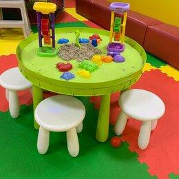 Развивающие игрушки - Стол для кинетического песка с фигурками, 0
