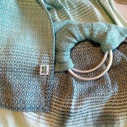 Рюкзаки и сумки-кенгуру - Слинг с литыми кольцами Mum's Era, 0