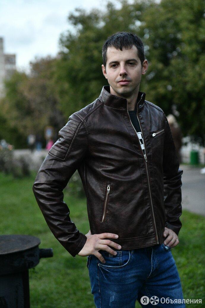 Куртка мужская кожаная по цене 6000₽ - Куртки, фото 0