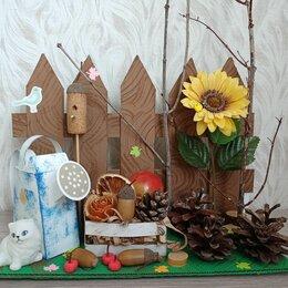 Сувениры - Поделка в садик школу из природных материалов, 0