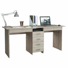Компьютерные и письменные столы - Стол письменный новый Тандем-2Я для двоих (0120), 0