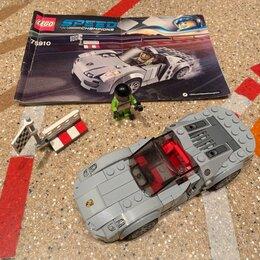 Конструкторы - Конструктор LEGO Speed Champions Porsche 918 Spyder 75910, 0