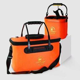 Защита и экипировка - Рыболовное ведро Xiaomi Yeux Outdoor Foldable Fishing Bucket 20L - оранжевый, 0