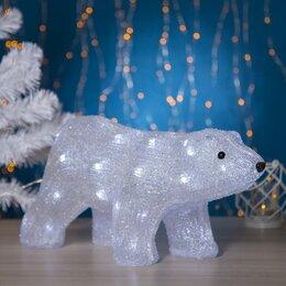 "Головоломки - Luazon Lighting Фигура акрил. ""Медведь стоячий"" 45х15х23 см, контр. с димером..., 0"