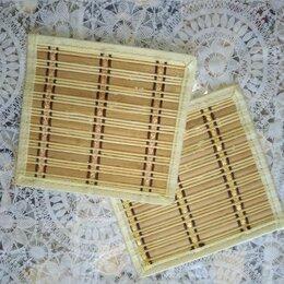 Прочие хозяйственные товары - Бамбуковые коврики под посуду (2 шт), 0