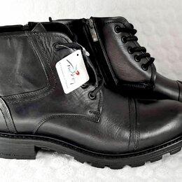 Ботинки - Ботинки кожаные р.44, 0
