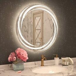 Дизайн, изготовление и реставрация товаров - Зеркало LED ЭММИ Жасмин 800*800мм, 0