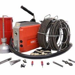 Инструменты для прочистки труб - Электромеханическая машина для прочистки труб Voll v-clean 150, 0