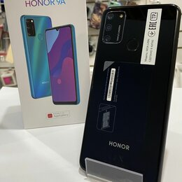 Мобильные телефоны - Телефон Honor 9A 3/64GB Чёрный , 0