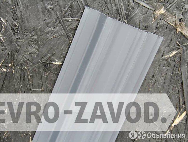 Штакетник металлический, П-образный, RAL 7024 по цене 66₽ - Заборы, ворота и элементы, фото 0