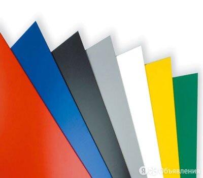 Лист с полимерным покрытием 0,75х1250х2500 мм RAL 7011 по цене 1223₽ - Металлопрокат, фото 0