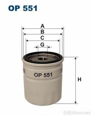Фильтр масляный opel FILTRON OP551 по цене 170₽ - Отопление и кондиционирование , фото 0