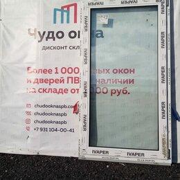 Окна - Окно, ПВХ Ivaper 62мм, 1650(В)х910(Ш) мм, 0