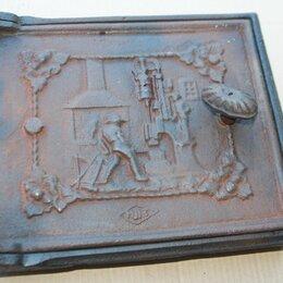 Камины и печи - Старые чугунные печные дверцы германия, 0