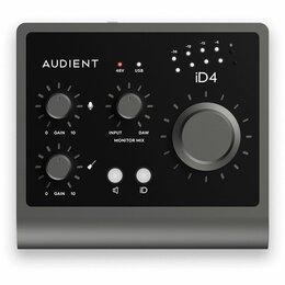 Оборудование для звукозаписывающих студий - Audient iD4 MKII внешний USB 3.0 аудиоинтерфейс, 0