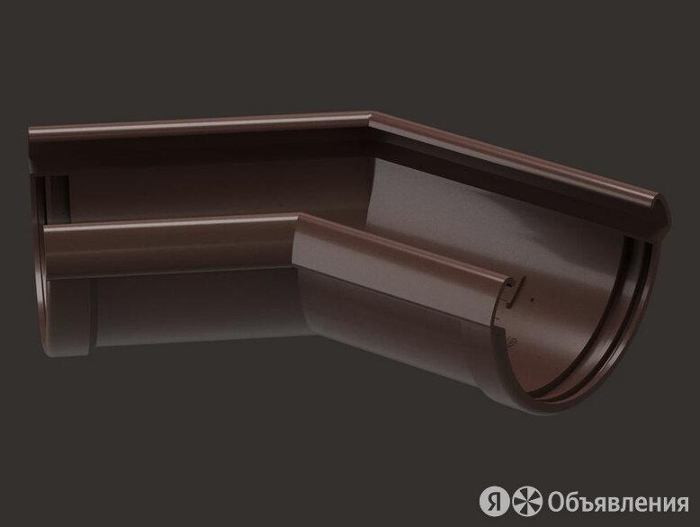 Угловой элемент желоба 135° – (Docke LUX - Шоколад) по цене 1313₽ - Кровля и водосток, фото 0