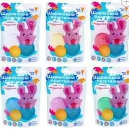 Лепка - GENIO KIDS-ART Пластилин шариковый для детской лепки, ассорти, 0