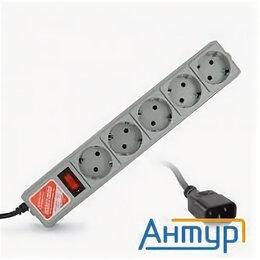 Прочие аксессуары - Powercube Фильтр  B, 1.95м, 5 евророзеток (spg-b-6/ext), серый, 0