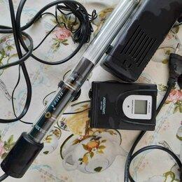 Оборудование для аквариумов и террариумов -  Обогреватель для аквариума и измеритель температуры и влажности воздуха., 0