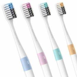 Зубные щетки - Набор зубных щеток Xiaomi Bass Soft Toothbrush (4pcs/Pack), 0