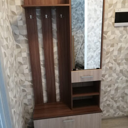 Вешалки напольные - Вешалка с зеркалом вз910 «ника» венге/лоредо, 0