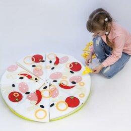 """Игрушечная мебель и бытовая техника - Игровой набор """"Пицца"""" с сумкой для хранения, 0"""
