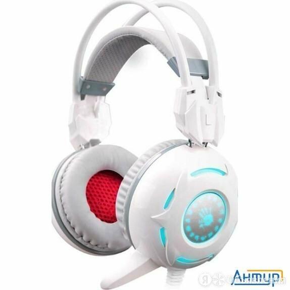 A4 Bloody G300 белые 2.2м мониторы оголовье (g300) по цене 1720₽ - Портативная акустика, фото 0