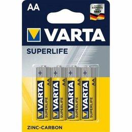 Батарейки - Батарейка АА LR6 Zinc Carbon Varta Superlife, 0