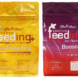 Комнатные растения - Набор сухих удобрений Powder Feeding Long Flowering 125 гр, 0