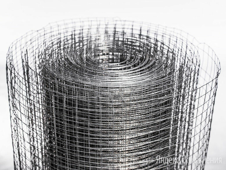 Сетка сварная оцинкованная сварена из проволоки 101.6х50.8 1.8 мм по цене 70₽ - Металлопрокат, фото 0