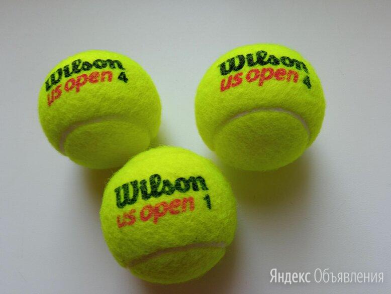 Теннисные мячи 3 шт. по цене 200₽ - Аксессуары, фото 0