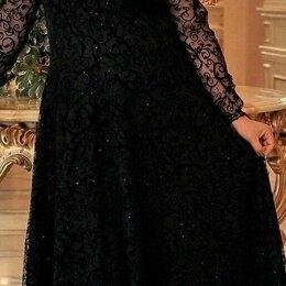 Платья - Шикарное вечернее гипюровое платье большого размера р-ры 54-64, 0