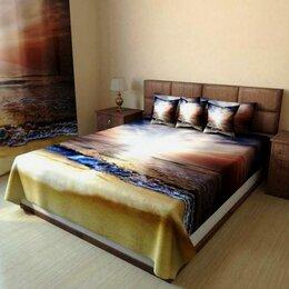 Пледы и покрывала - Покрывало на кровать с фотопечатью, 0