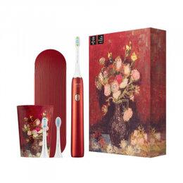 Зубные щетки - Электрическая зубная щетка Xiaomi Soocas Toothbrush X3U Van Gogh Edition Red, 0