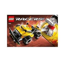 Конструкторы - Lego Racers (Power) 7968 «Сильный», 0