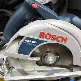 Дисковые пилы - Дисковая пила BOSCH GKS 160, 0