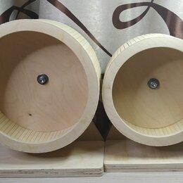Игрушки и декор  - Беговое колесо для Грызунов из дерева, 0