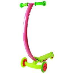 Самокаты - Самокат стальной, колеса PVC d=120/80 мм, ABEC 7, цвет зеленый, 0