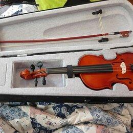 Смычковые инструменты - Скрипка 4/4 fabio sf-3900n4/4 футляр, смычок, 0