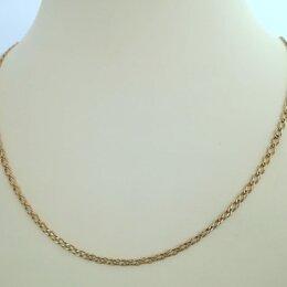 Цепи - цепь / размер 52 / 2,62г / золото 585, 0