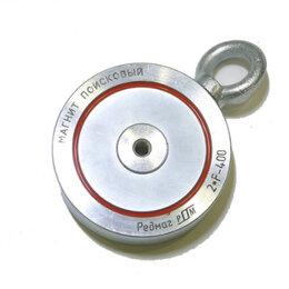 Магниты - Магнит поисковый f400 двухсторонний редмаг, 0