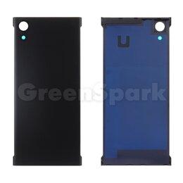 Корпусные детали - Задняя крышка для Sony Xperia XA1/XA1 Dual (G3121/G3112) (черный), 0