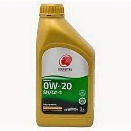 Масла, технические жидкости и химия - IDEMITSU 0W-20 SN/GF-5, Fully-Synthetic 1л, 0