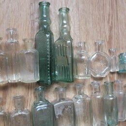 Этикетки, бутылки и пробки - стеклянные флаконы, пузырьки, царская Россия, 0