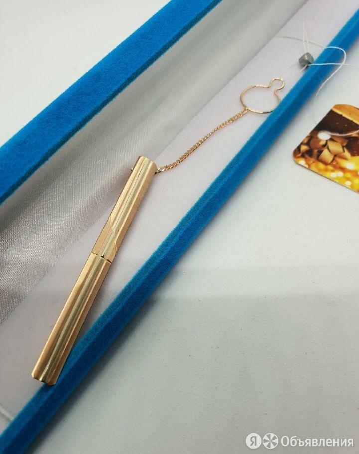 Л.К.Зажим для галстука 585 пр 4.3 гр по цене 13545₽ - Запонки и зажимы, фото 0