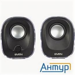 Комплекты акустики - Sven 330, чёрный (5 Вт, питание Usb, подсветка), 0