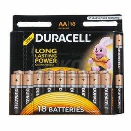 Батарейки - Элемент питания Duracell LR6 AA 1.5V 1/18, 0