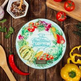 Кухонные весы - Весы кухонные электронные 'Приятного аппетита', до 5 кг, 0