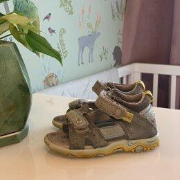 Обувь для малышей - Кожаные детские сандалии 21 размера, 0