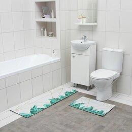 Дизайн, изготовление и реставрация товаров - Коврик для ванной  двойной Грани 400*600 450*1200 велюр 6847577, 0